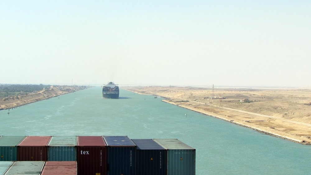 Navigating the Suez Canal