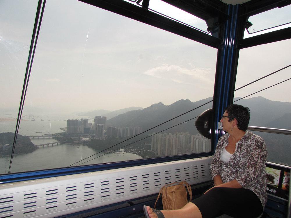 Cable Car on Lantau