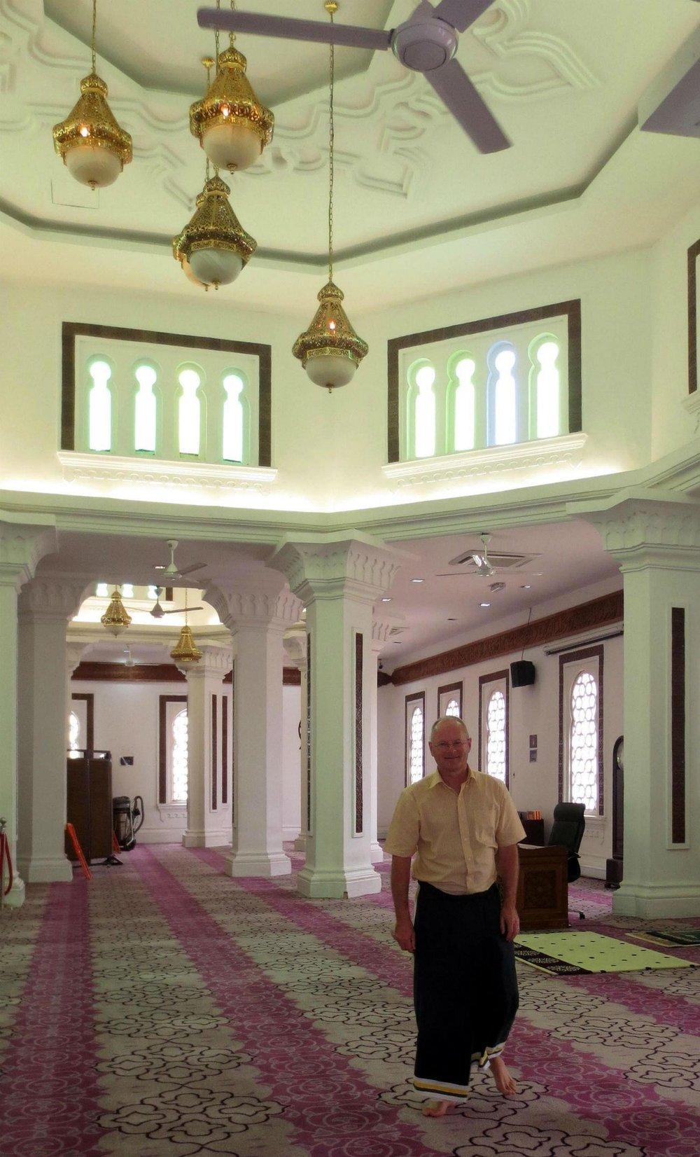 Masjid Jamek Mosque in Kuala Lumpur Central