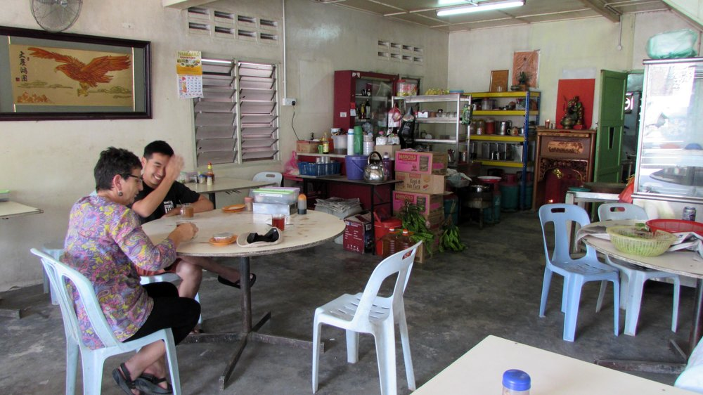 Breakfast in Kuala Terla