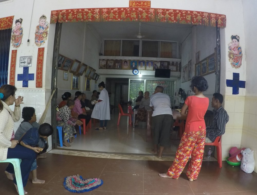 Medical clinic in Seam Reap