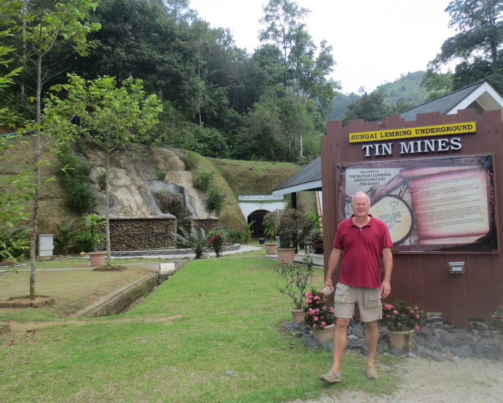 Old Tin Mine Sungai Lembing