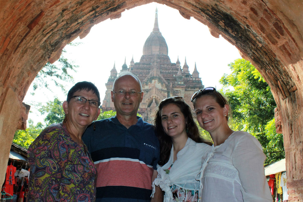 Amanda Temple in Bagan