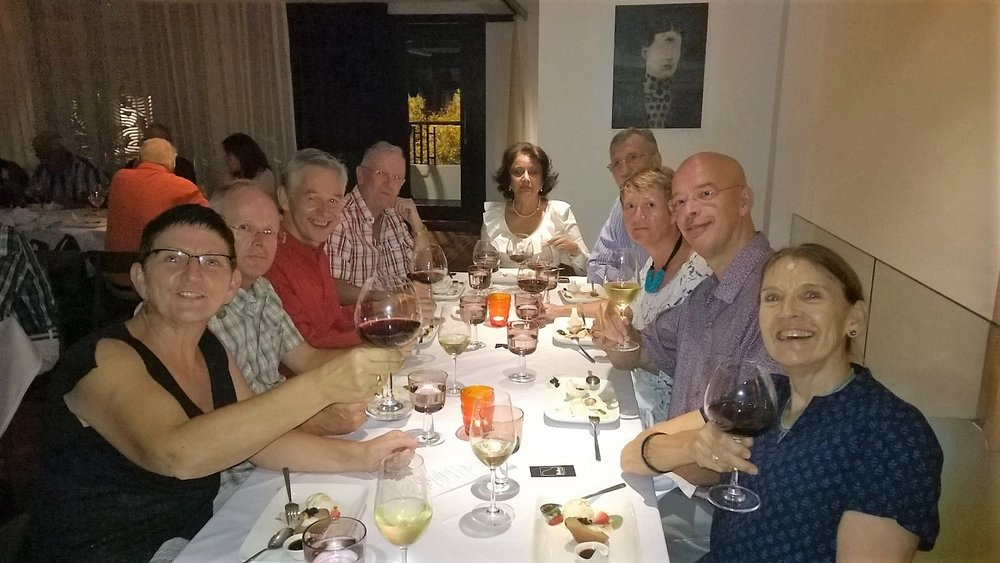 Wine dinner with friends in Bangsar, Kuala Lumpur