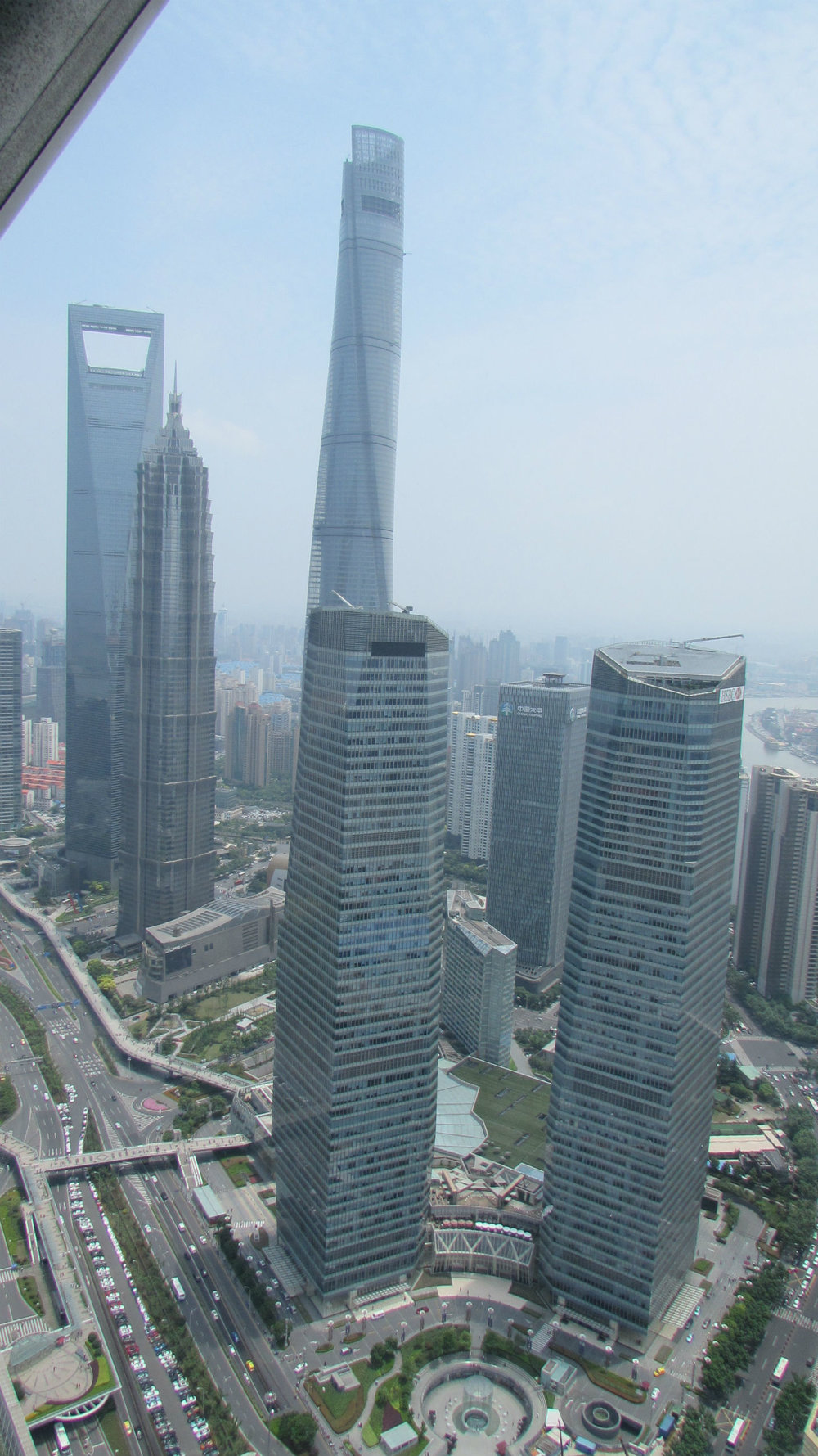 Central Business District with Shanghai Tower