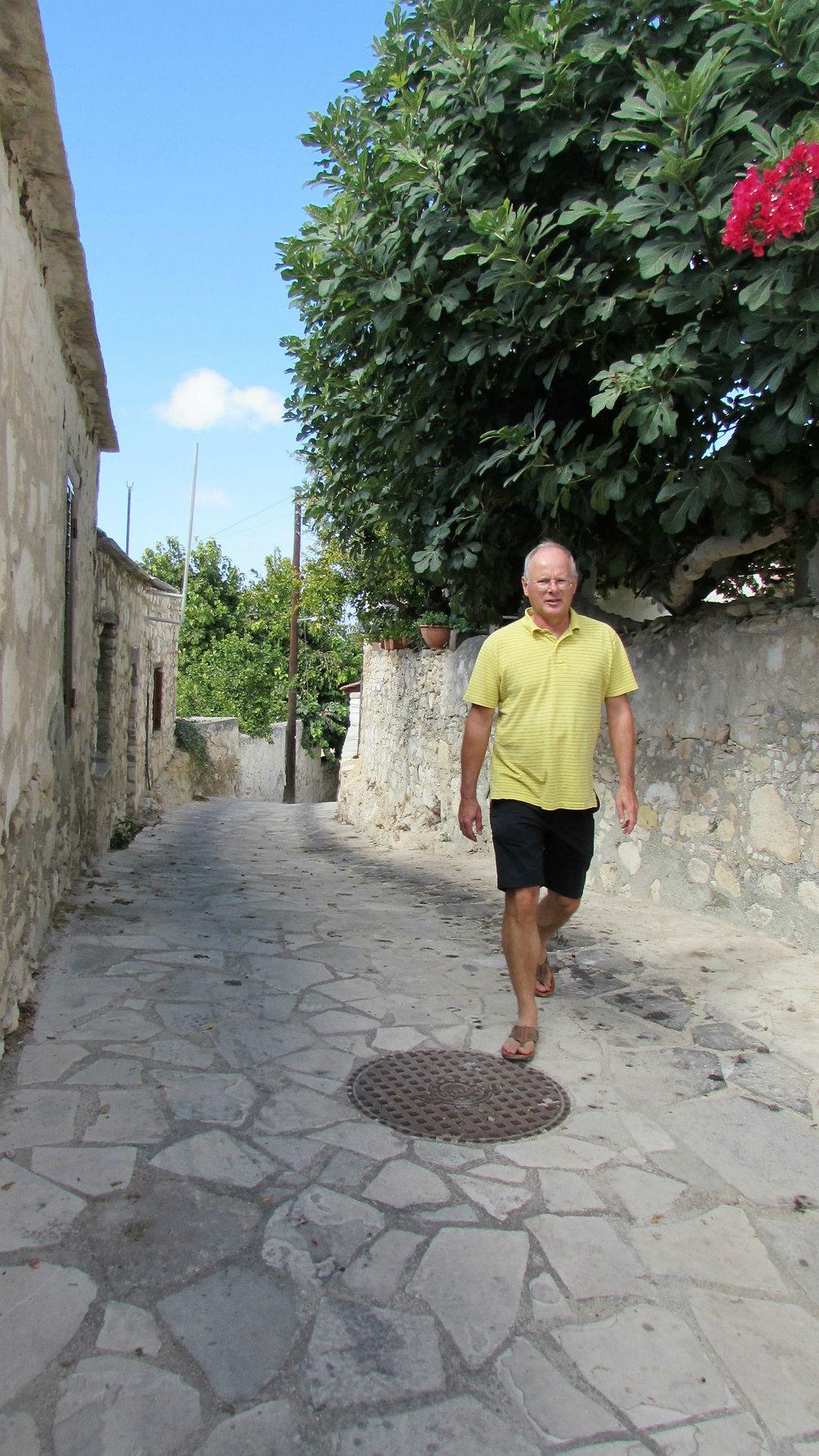 Strolling through Tala village