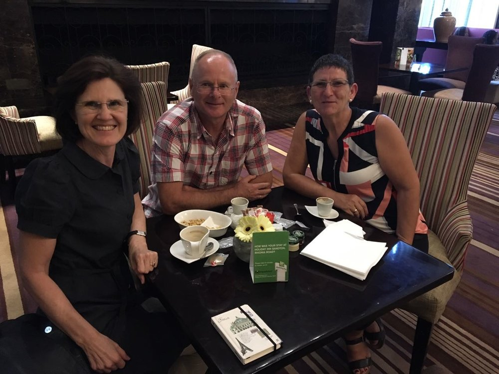 2016 - Old friends - - Anneli, Frank and Francien