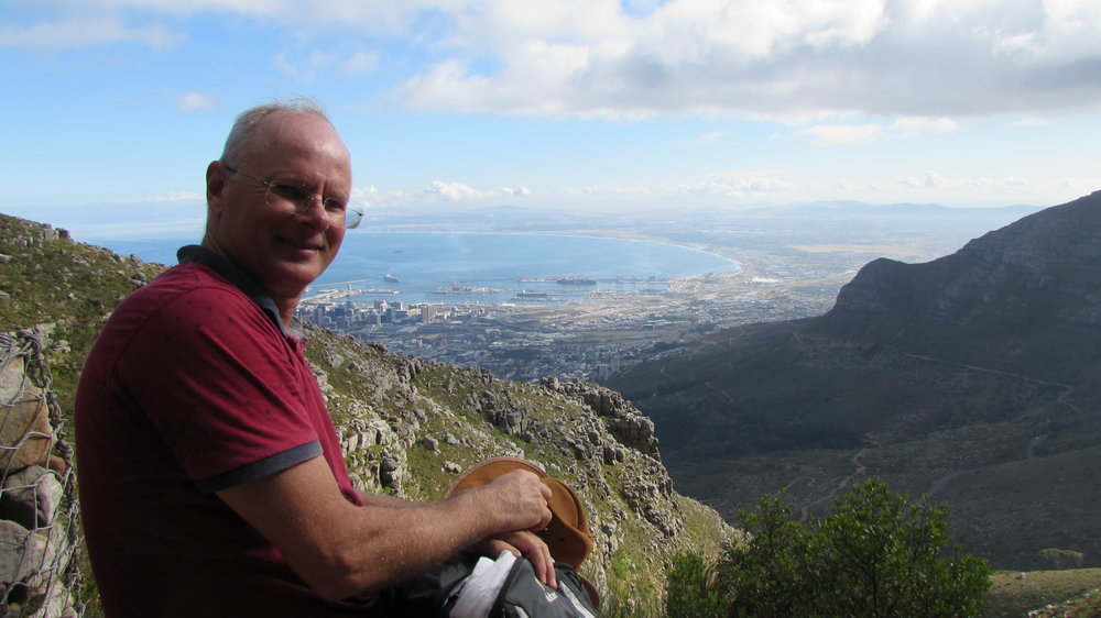 View from Table Mountain onto Cape Town