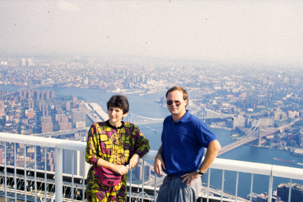 1992  On Top of World Trade Center, New York