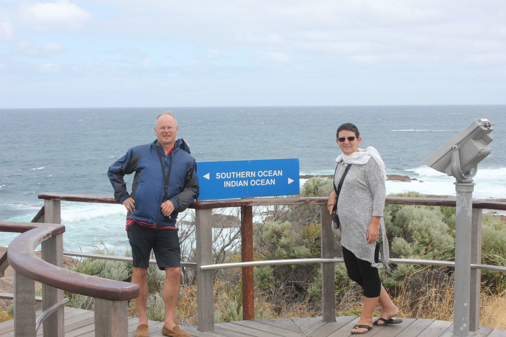 The Indian Ocean meets the Southern Ocean