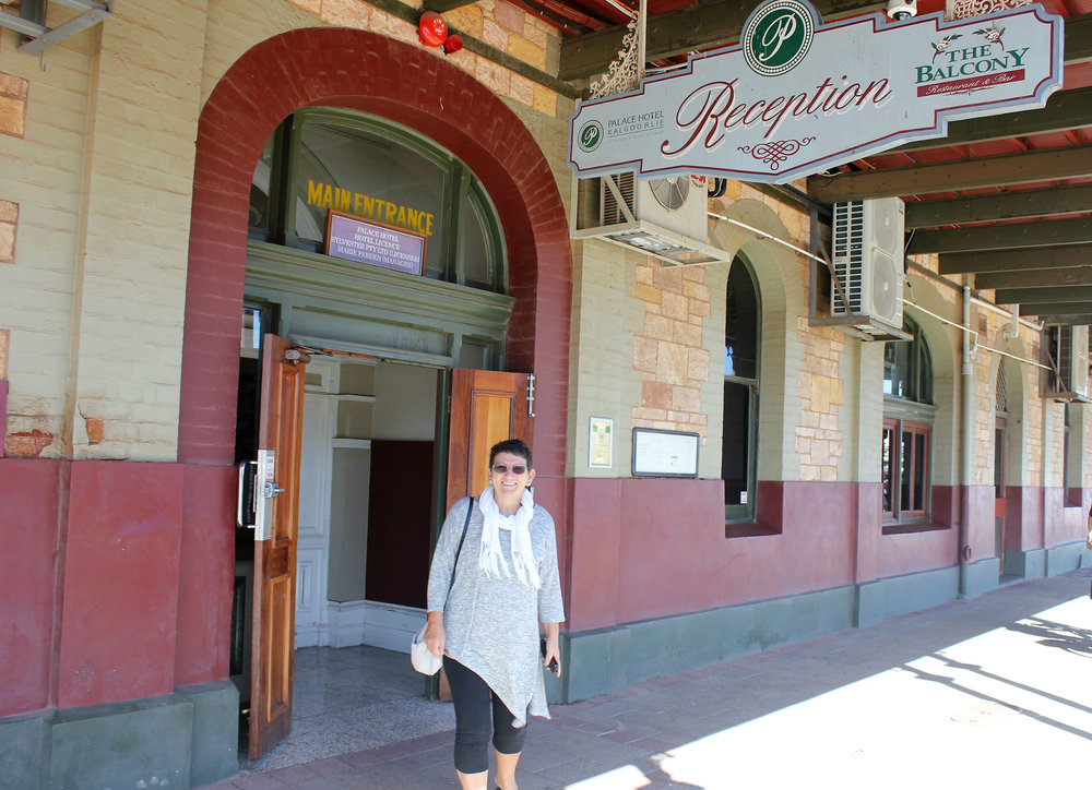 The Palace Hotel in Kalgoorlie