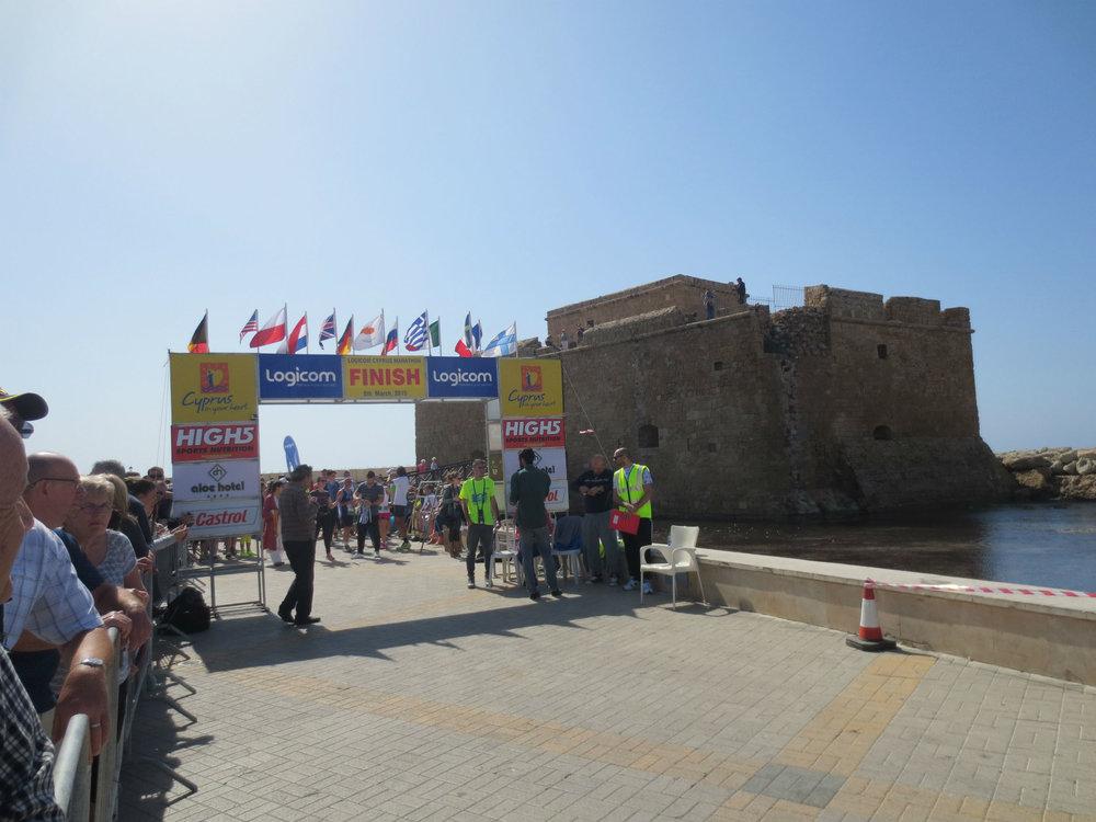 2015 Paphos half marathon, Cyprus