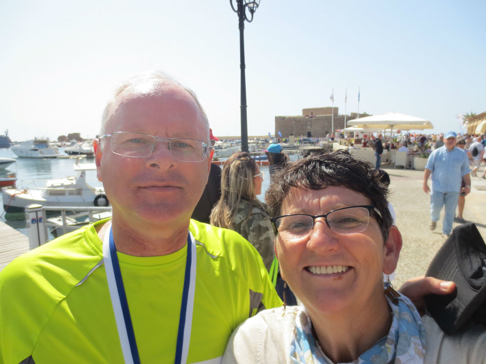 2015 Paphos half marathon finish