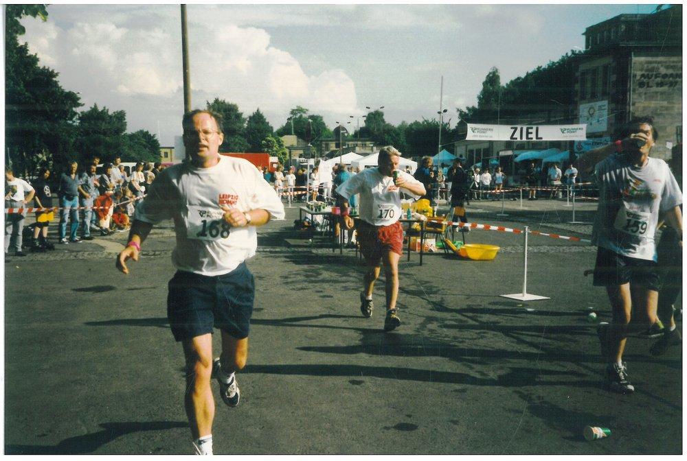 1997 Leipzig, Germany half marathon