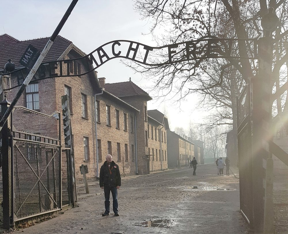 Main entrance Auschwitz I
