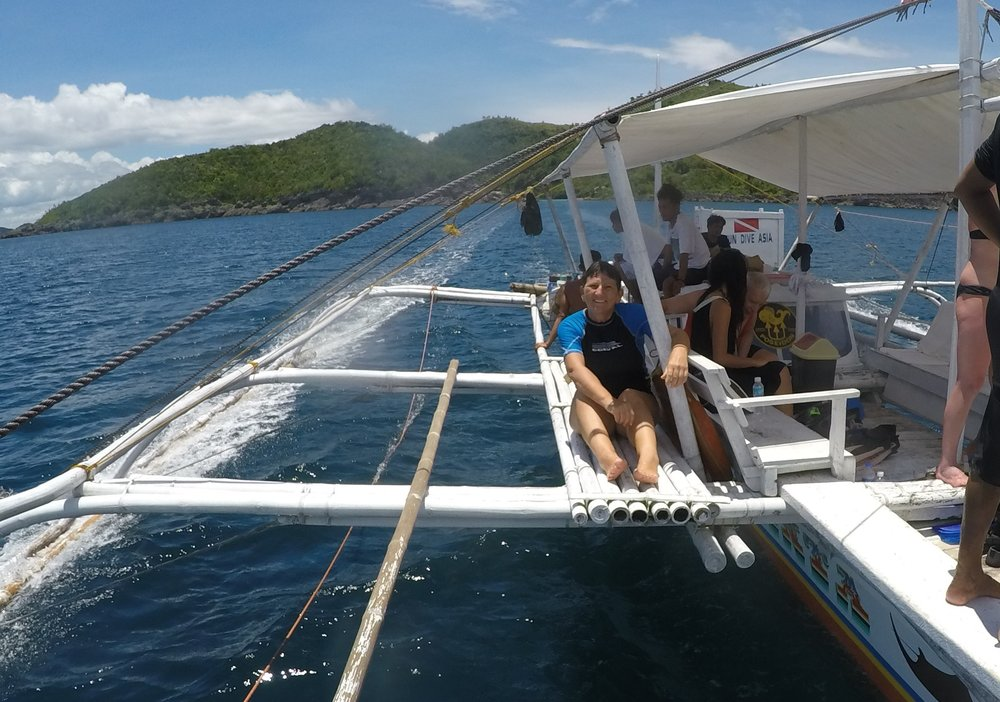 On the look out for the whale sharks