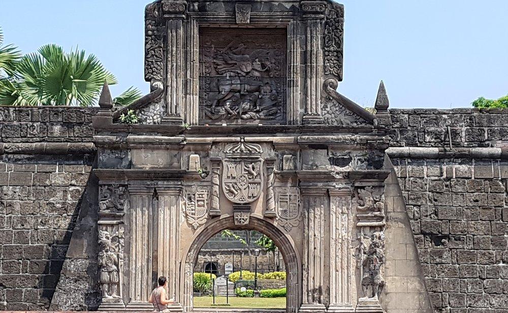 Intramuros, the Spanish colonial era old city
