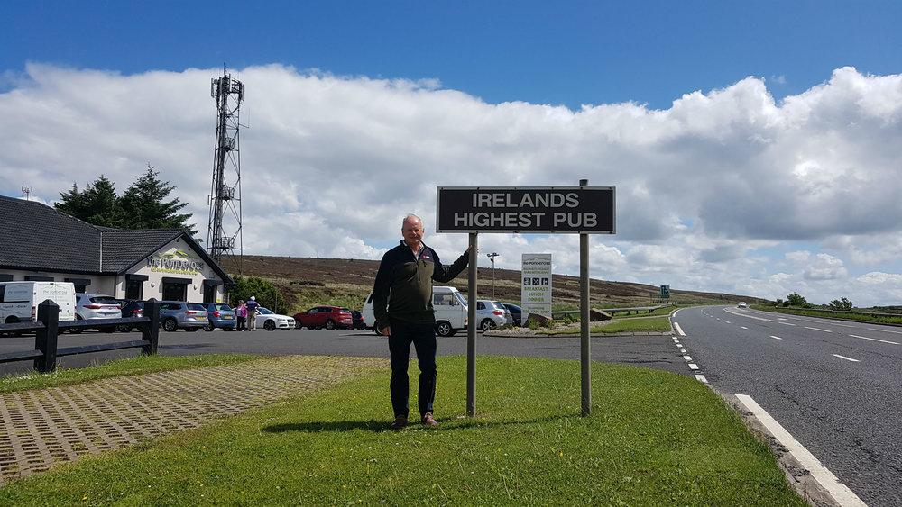 Glenshane Pass between Derry and Belfast