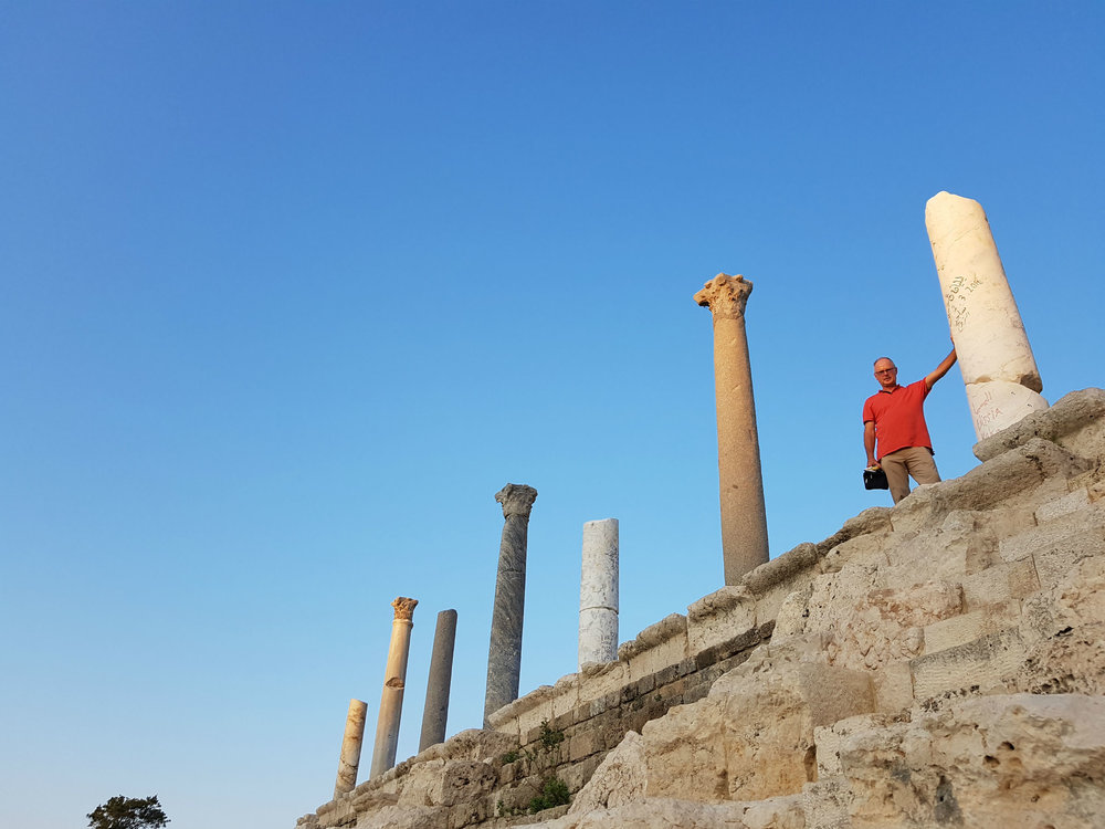 Hippodrome in Tyre: on top of Roman built seating area