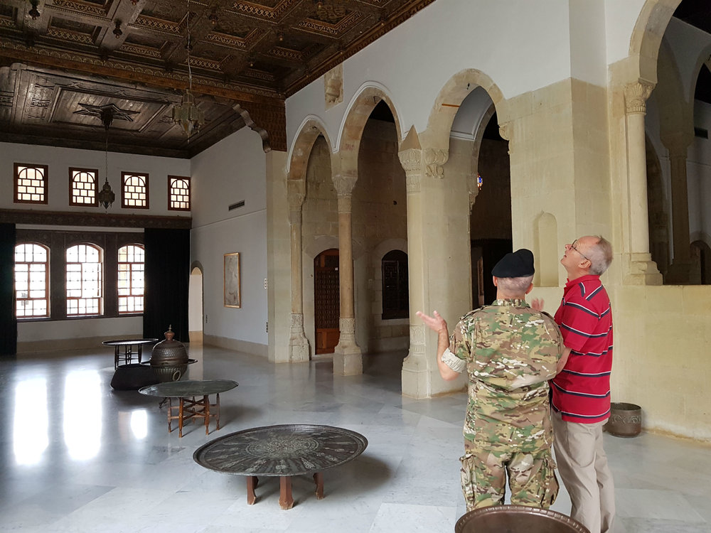 Inside the Beideddine summer palace