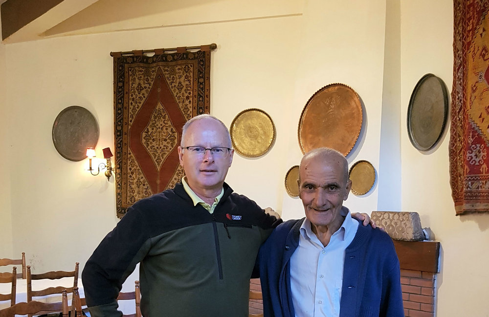 Ahmad has been working in the Palmyra Hotel for 60 years!