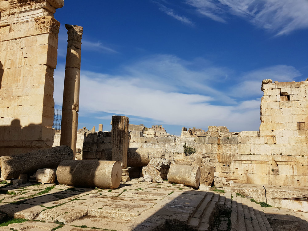 The Baalbek Temples 3000 years old