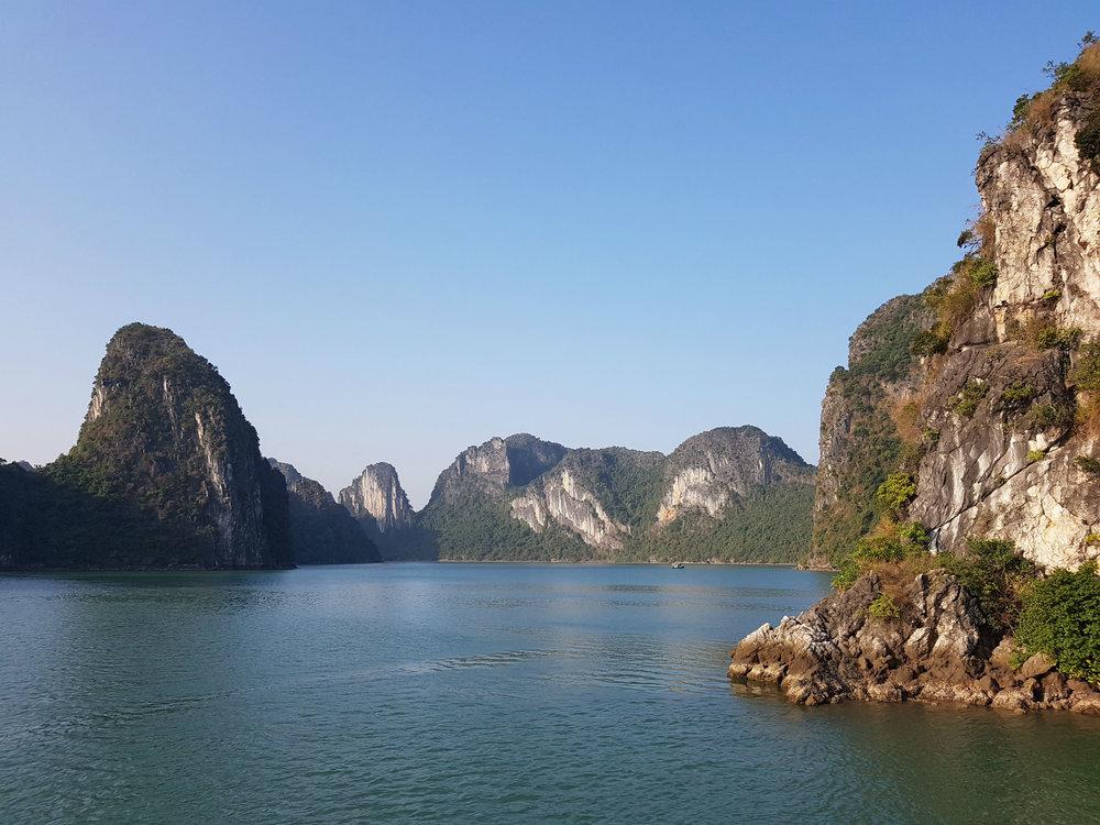 Ha Long Bay has 1600 islands