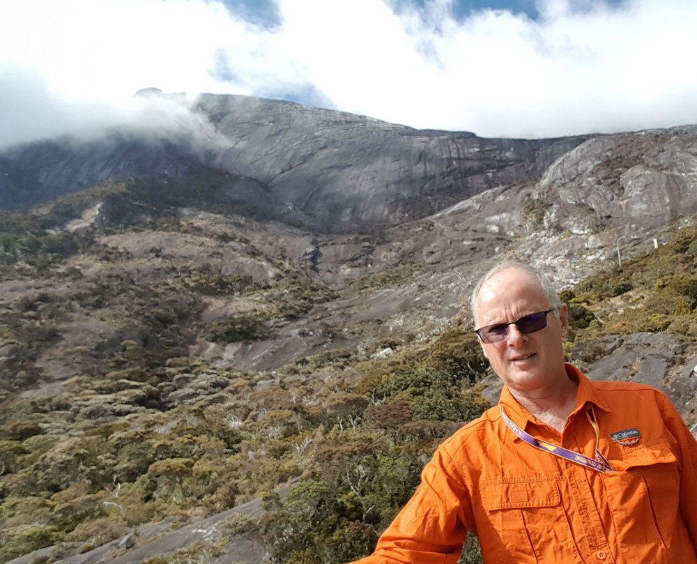 At 3000 meters above sea level, passed the treeline