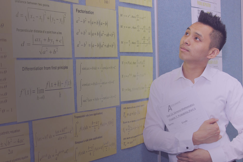 Senior Courses - English or mathematics for Preliminary to HSC
