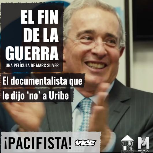 El documentalista que le dijo 'no' a Uribe  ¡Pacifista!se sentó a hablar con el documentalista para entender sus motivaciones y su fascinación por la transición de la guerra a posconflicto. POR¡PACIFISTA!  15 Sep de 2017