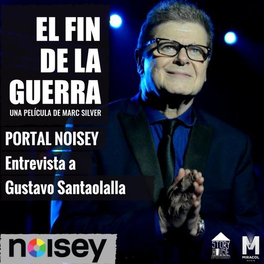 """Entrevista a Gustavo Santaolalla """"Me preocupa que la música no pueda seguirse expresando libremente"""": Gustavo Santaolalla  PORNOISEY   21 Sep de 2017"""