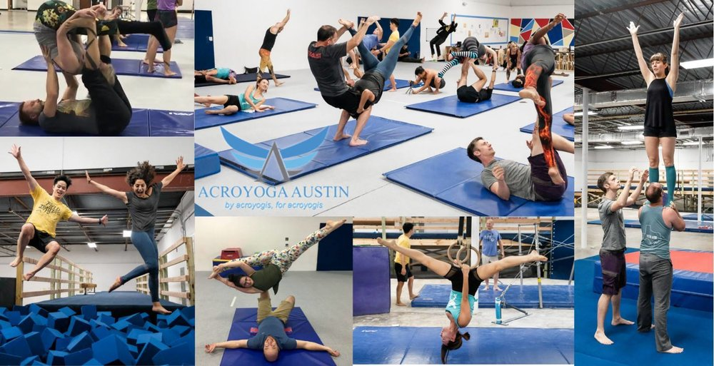 ACROYOGA AUSTIN:FRIDAY JAMS - • Donation-based• Hosted by local NPO Austin Acro Advocates