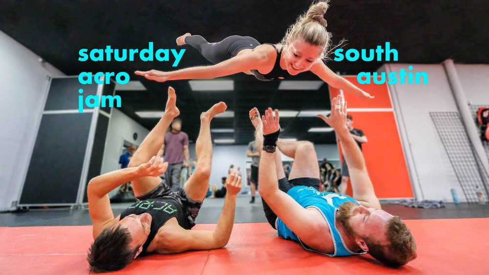 ACROYOGA AUSTIN:SATURDAY JAMS - • Donation-based• Hosted by local NPO Austin Acro Advocates