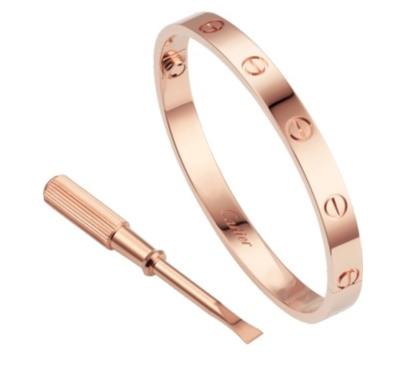 Cartier Love Bracelet Pink Gold