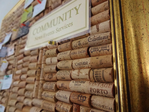 re-used cork-made community board.jpg