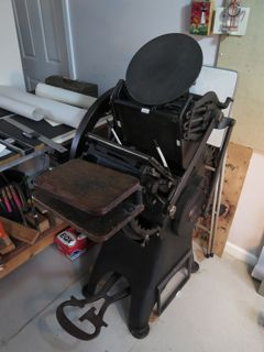 Golding Press ca. 1890.