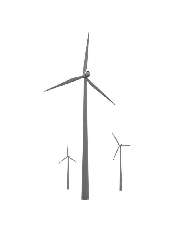 Landscape Icons #4, Windmills, Landscape Icons, 2014