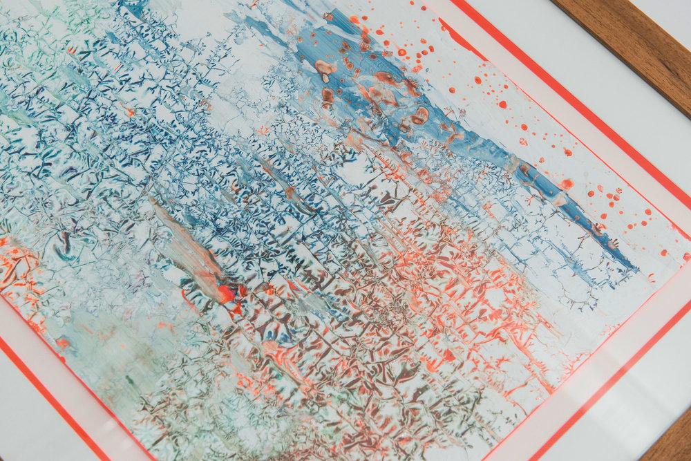 Subjective serie,N°1,Acrylic 61x51.8,2015