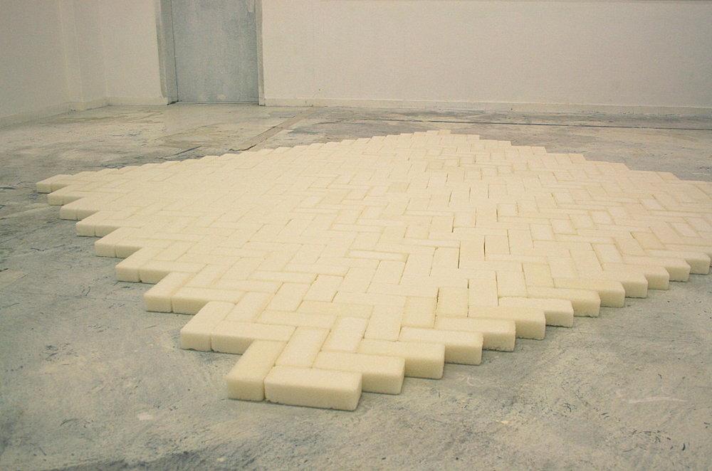 Sections Sucrées (installatie), suiker, 300x400cm, 2015