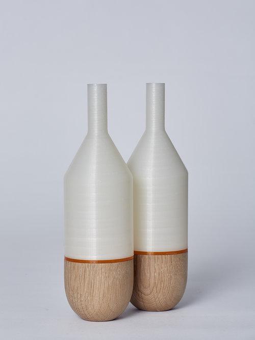 Half Bottle Vase Dos Studio