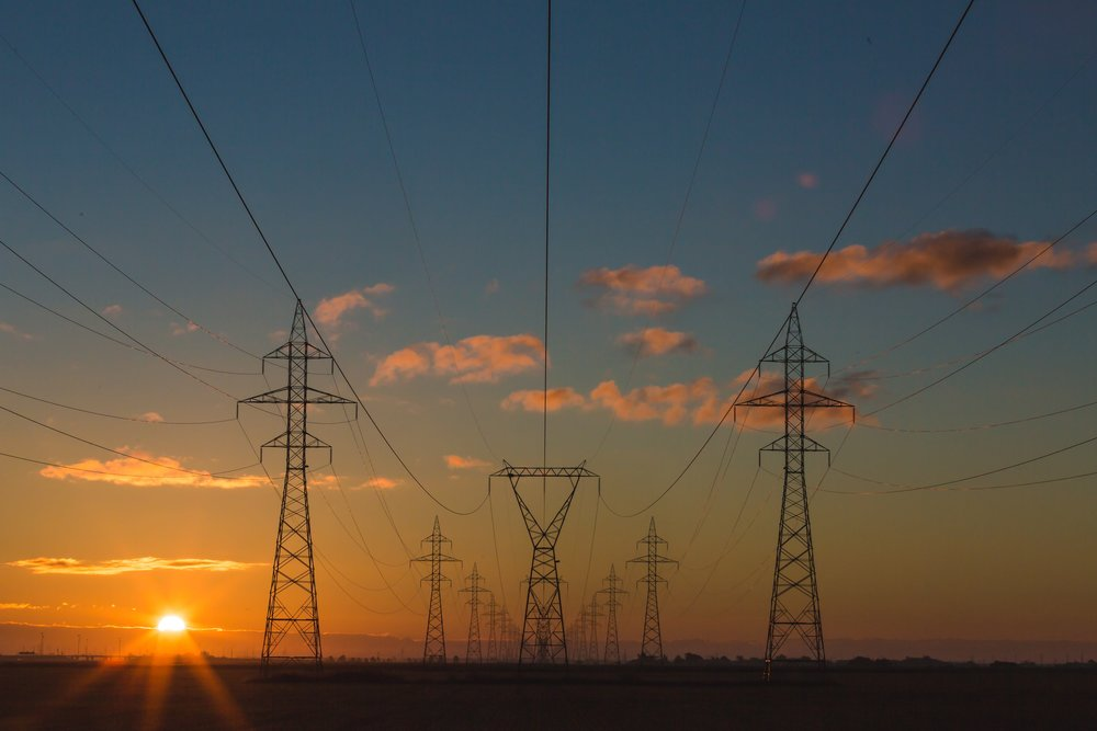 Electricity poles - National Grid