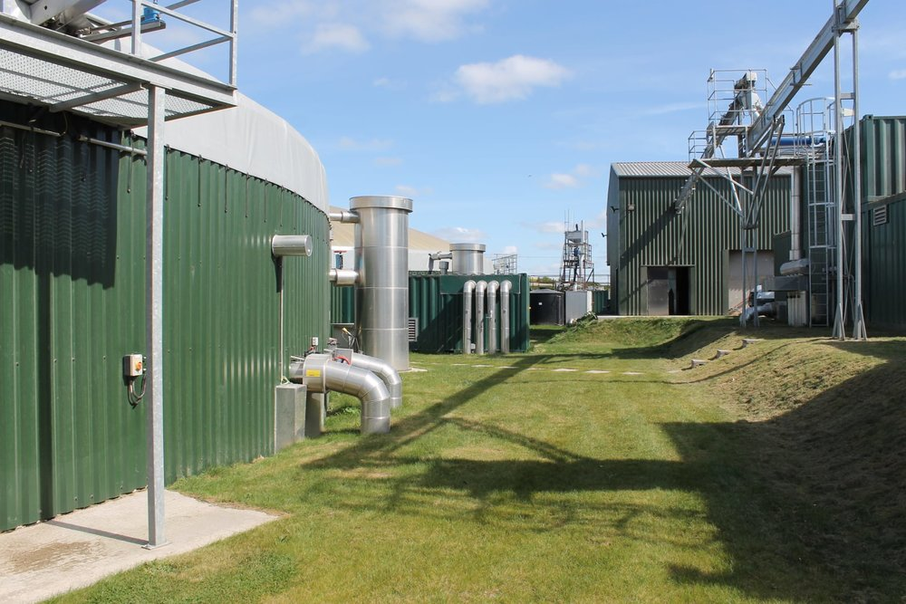Green gas from the Icknield Farm anaerobic digestion plant