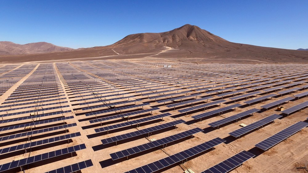 The Bolero solar project, Chile