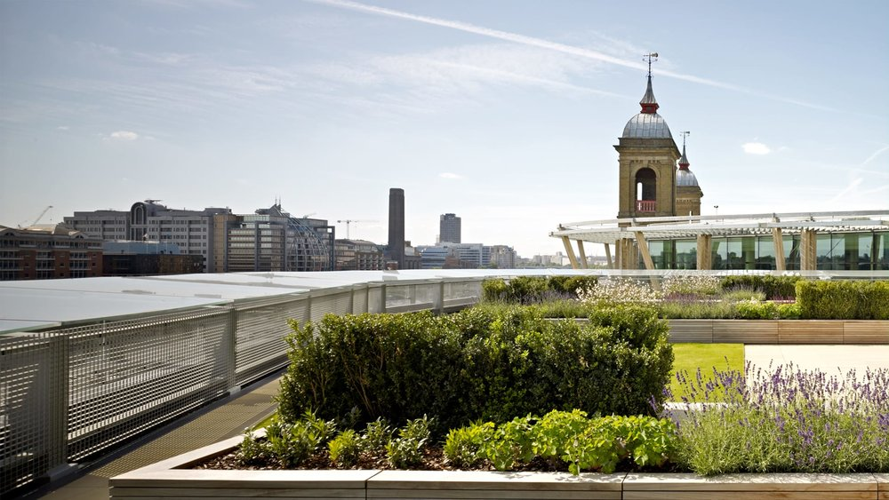 The Nomura Roof Garden -  Image credit.