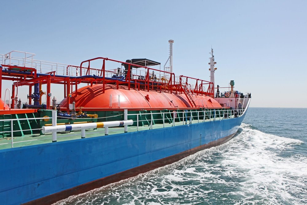 High gas prices saw an increase in shipments of gas to Europe