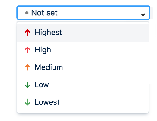 We avoided tickets being assigned a priority by default by adding the custom value 'Not set'