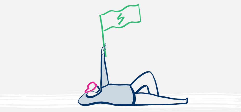 illustration-of-a-bulb-member-with-an-energy-flag