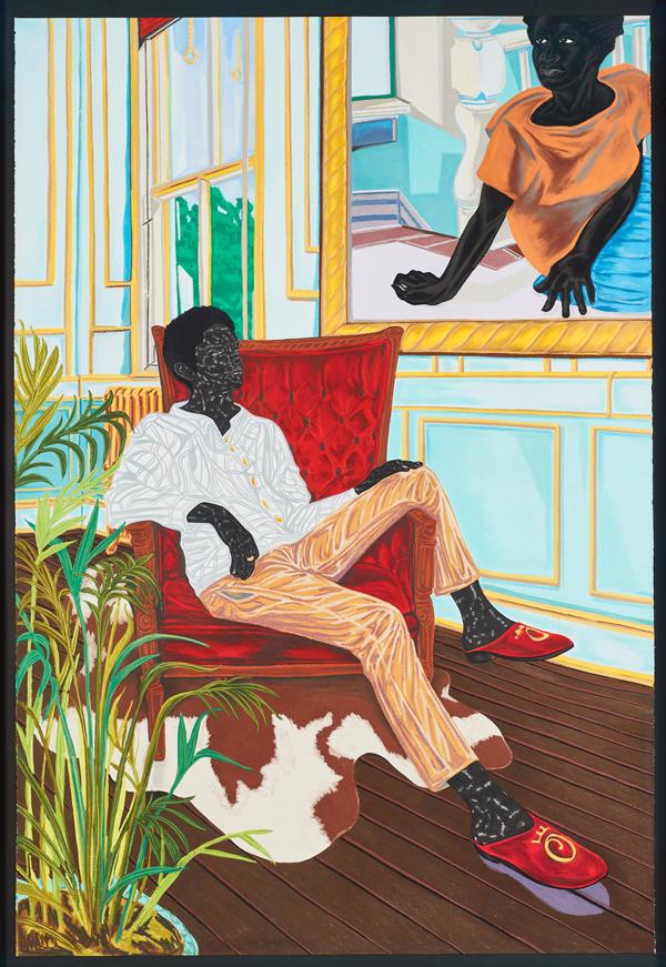 Toyin Ojih Odutola. A Grand Inheritance , 2016