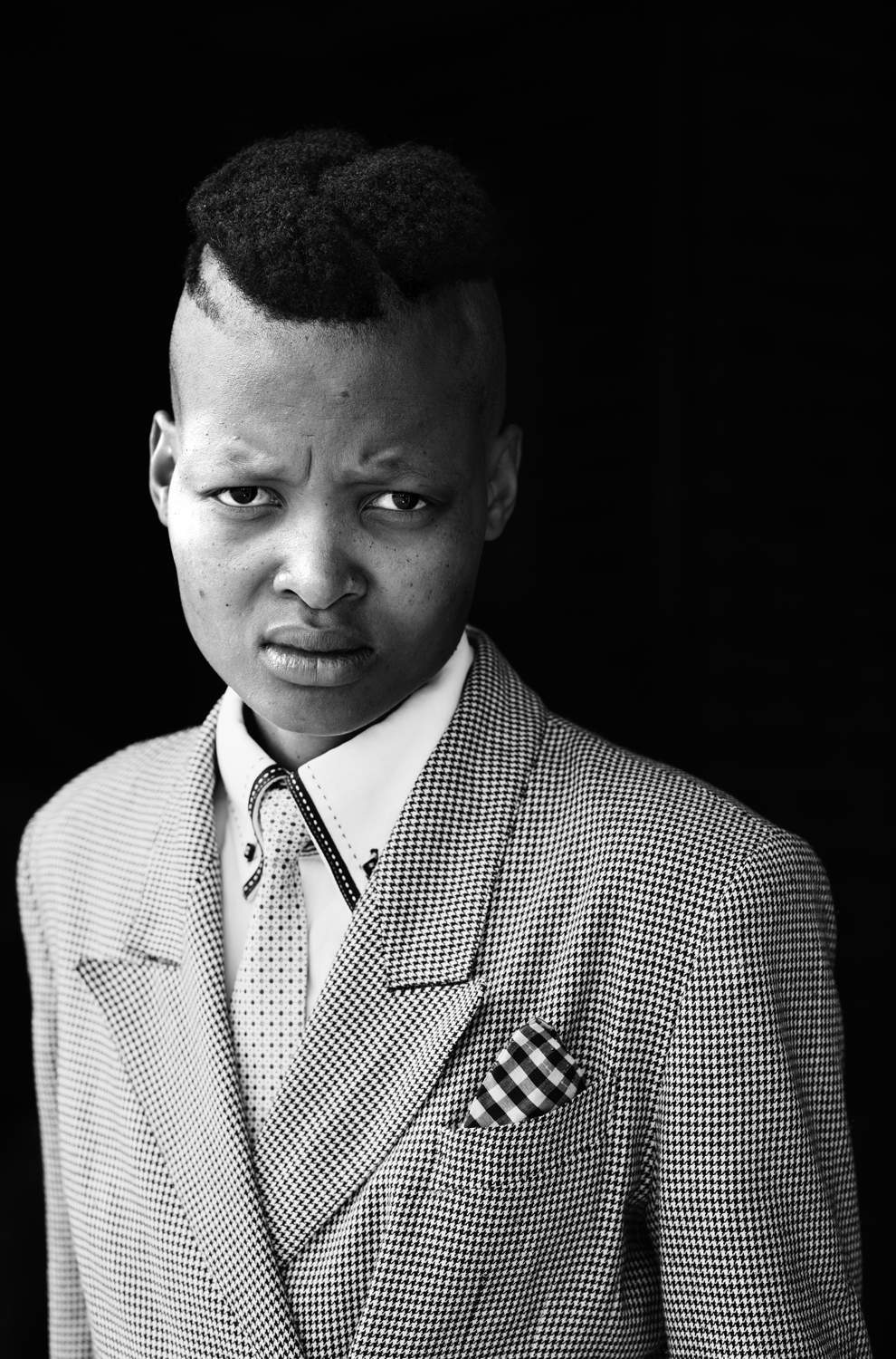 Vuyelwa Vuvu Makubetse, Daveyton, Johannesburg , 2013 for the series  Faces and Phases