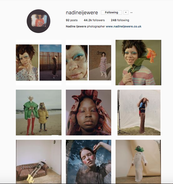 @nadineijewere on Instagram